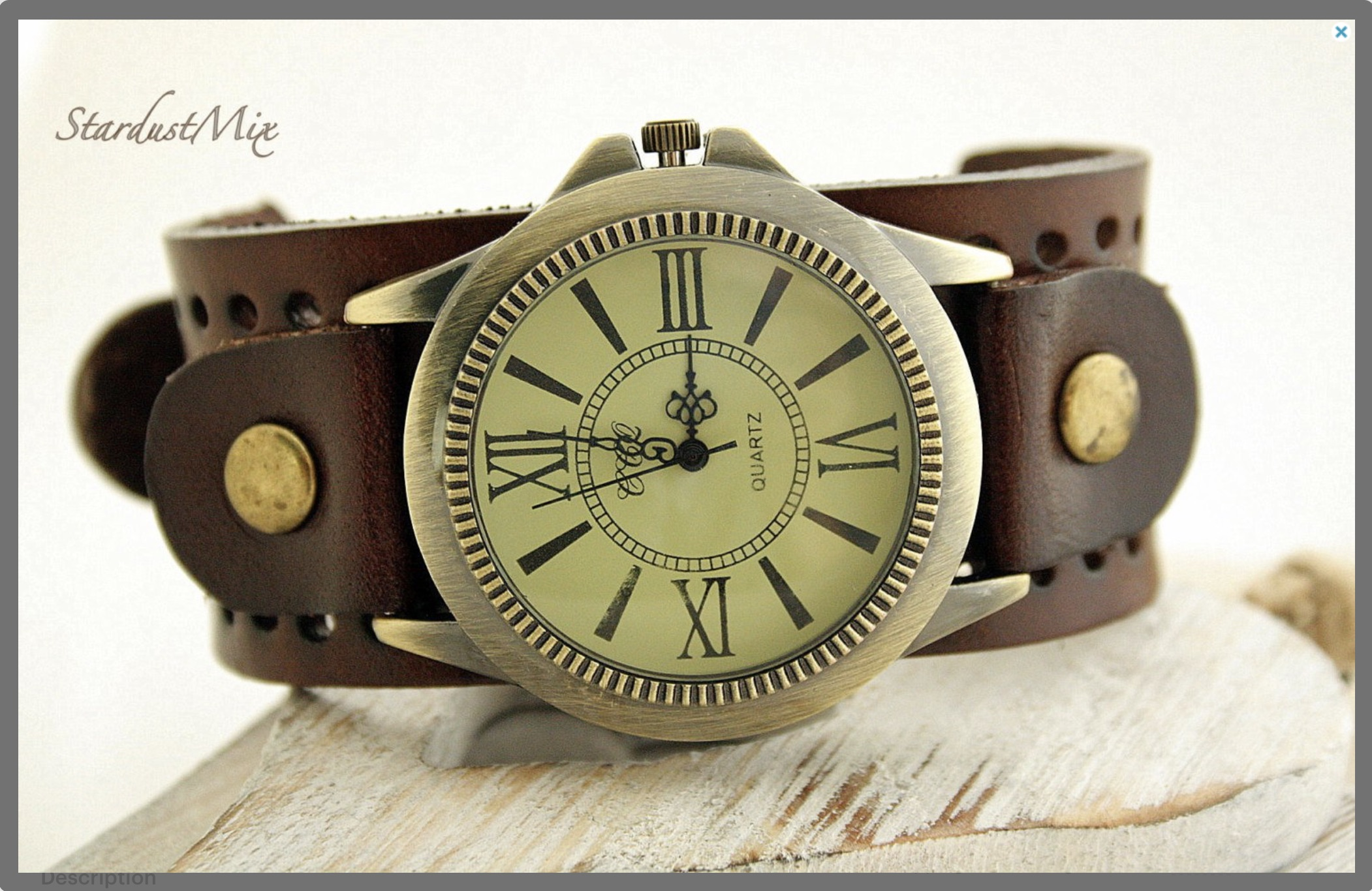 d0fa2213f6a09 Mens watch steampunk vintage leather boho mens watch groomsmen gift  boyfriend gift for men anniversary gift for him mens gift Christmas gift on  Storenvy
