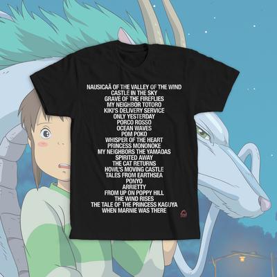 Grave of the Fireflies Ghibli Anime Manga T Shirt Tee