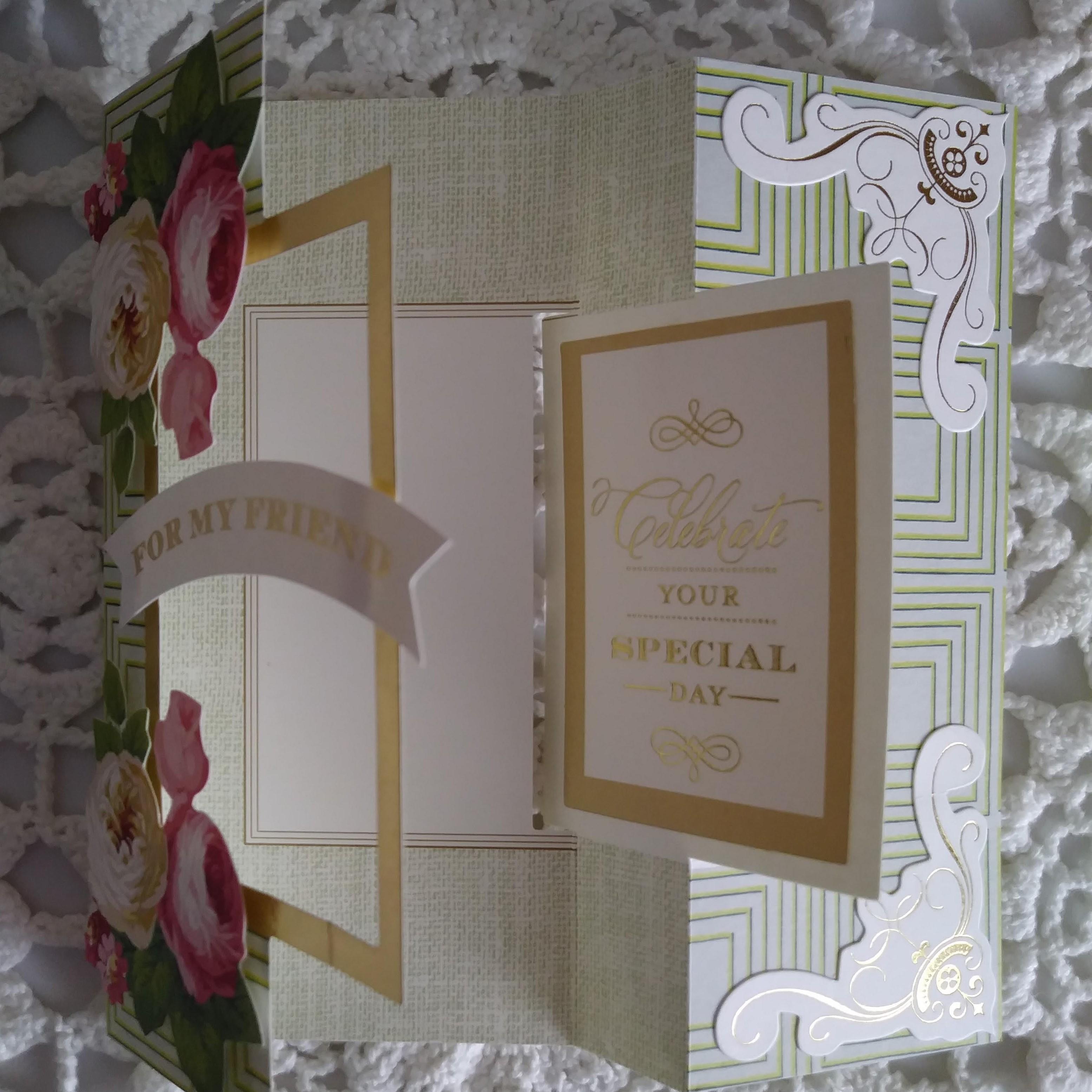 644f50e503b9 CR208 Handmade Flip Card   Friend Birthday · Just Add Photos ...