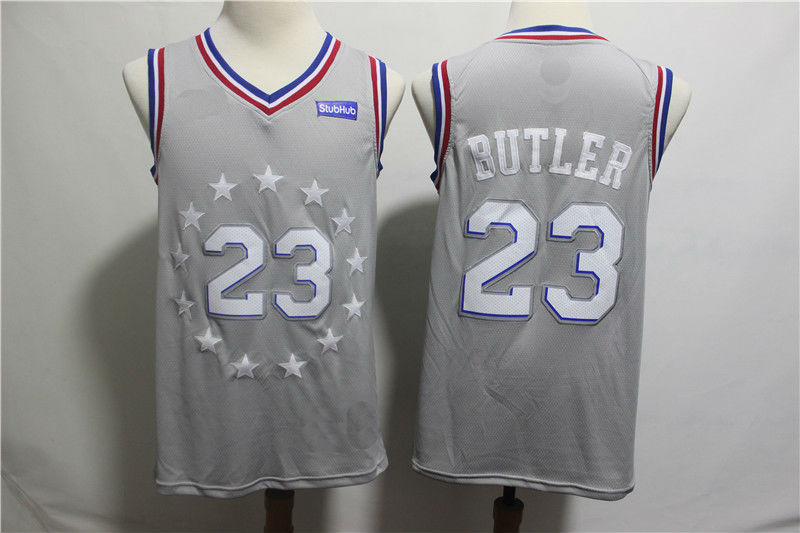 0fc16809632 2019 Youth Philadelphia 76ers  23 Jimmy Butler Basketball Jersey-City  Edition