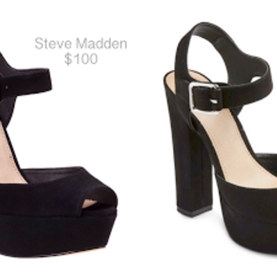 ae7cc526850 Mossimo Black Open-Toe Heels · Drew s Closet · Online Store Powered by  Storenvy