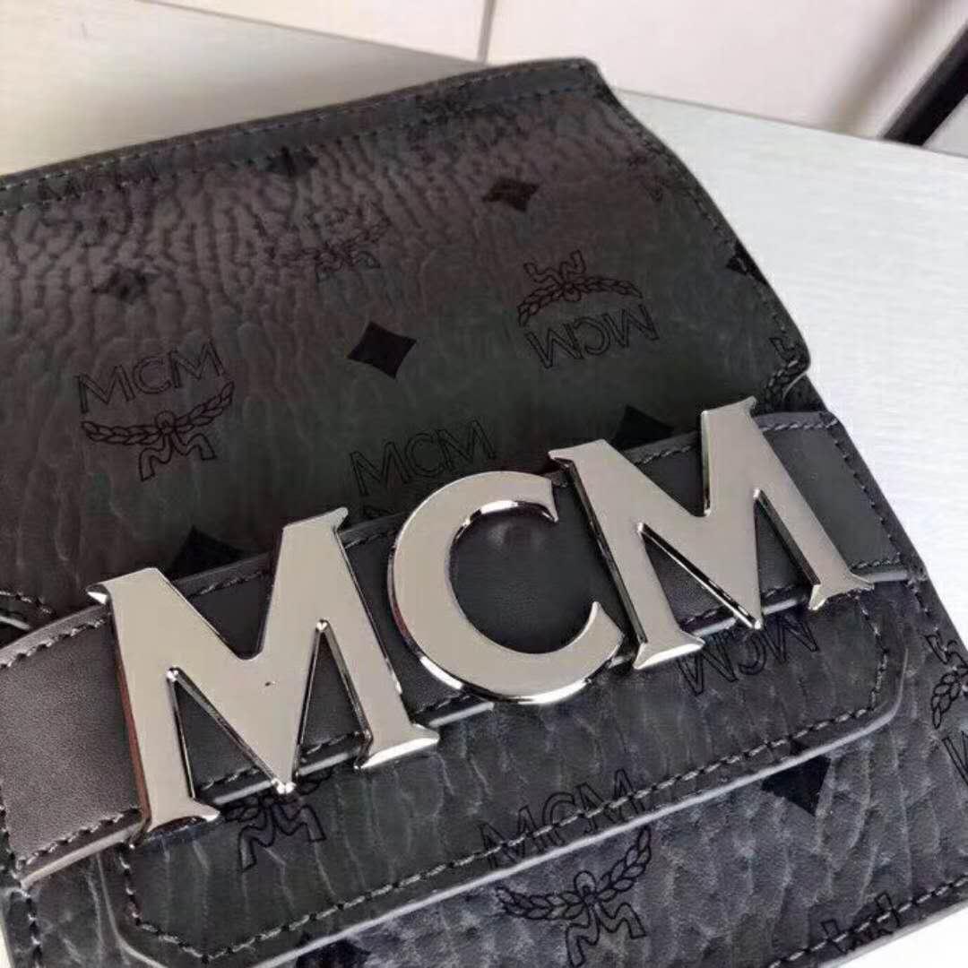 818fd7cb5c00 MCM Stark Double Logo Belt Bag In smoky grey · Jokerbeauty · Online ...