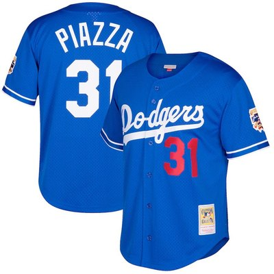 ec40eec76 Men s los angeles dodgers  31 mike piazza mitchell   ness royal big   tall  cooperstown