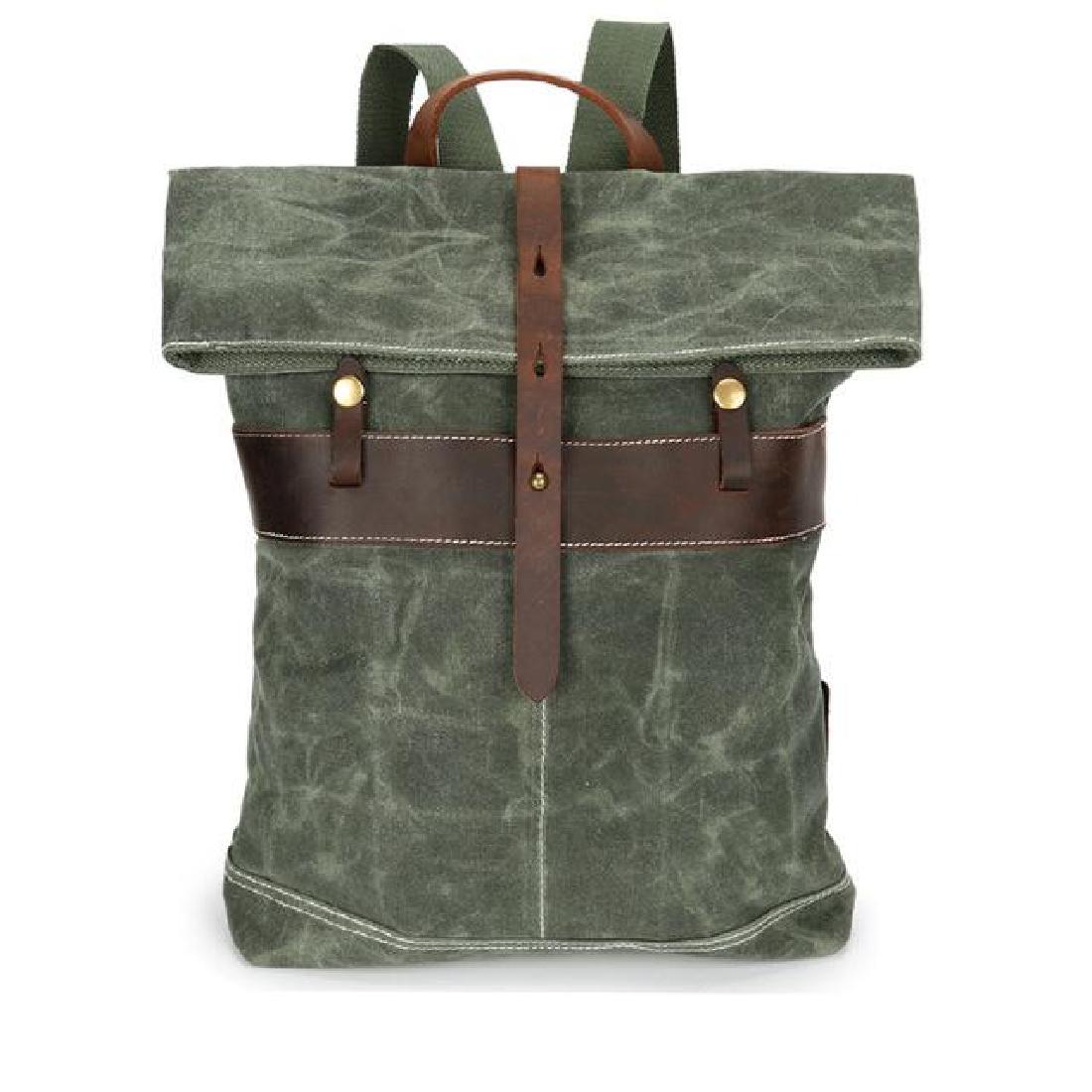 Leather Crazy Horse Backpack Vintage Travel Genuine S Men Bag School Multi  Pockets Zone Bags Sports 3e54b40aebc55