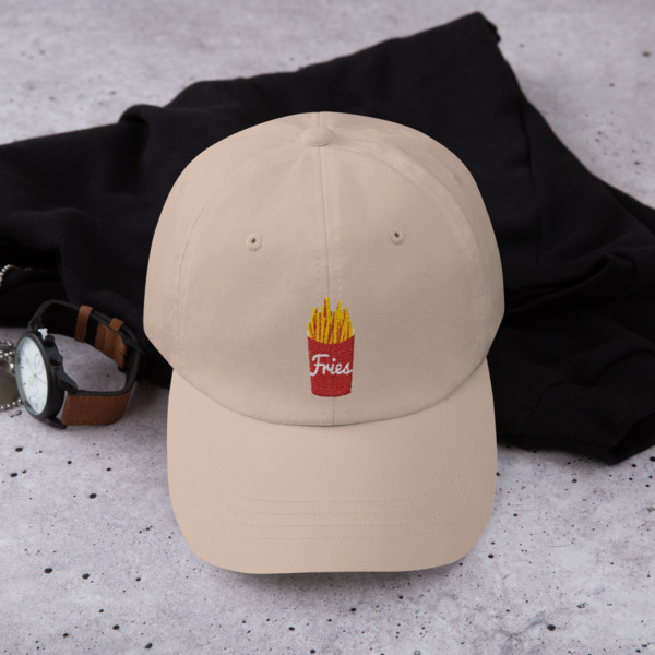 4ff4eac59a8 French Fry Dad Hat on Storenvy
