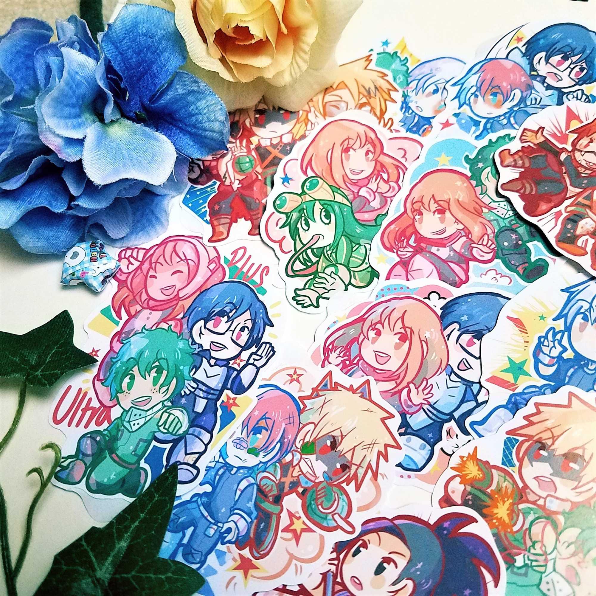 Color 24 Stil 01 Izuku Bakugou Anime Schl/üsselringe Anh/änger H/ängende Verzierung Elibeauty lunanana My Hero Academia Schl/üsselanh/änger