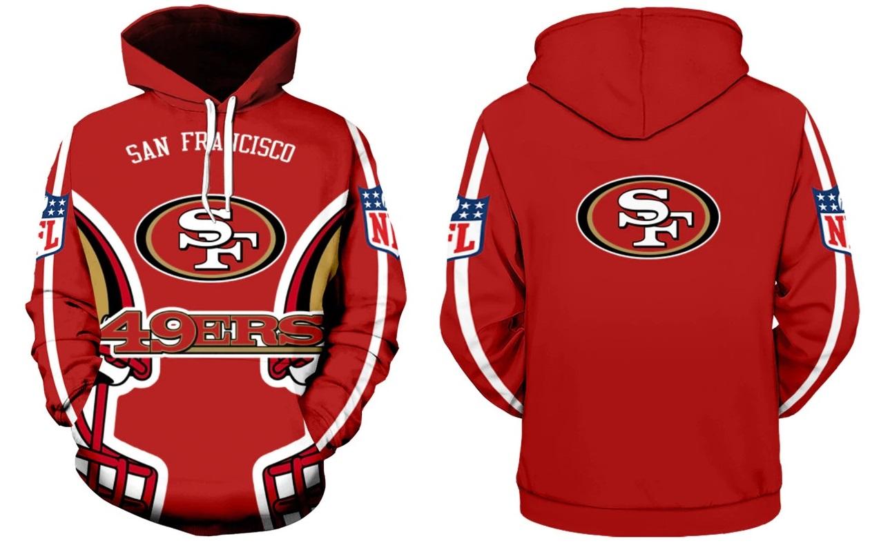 e38f8d60d San Francisco 49ers NFL Football Hoodie Team Sweatshirts Fan on Storenvy