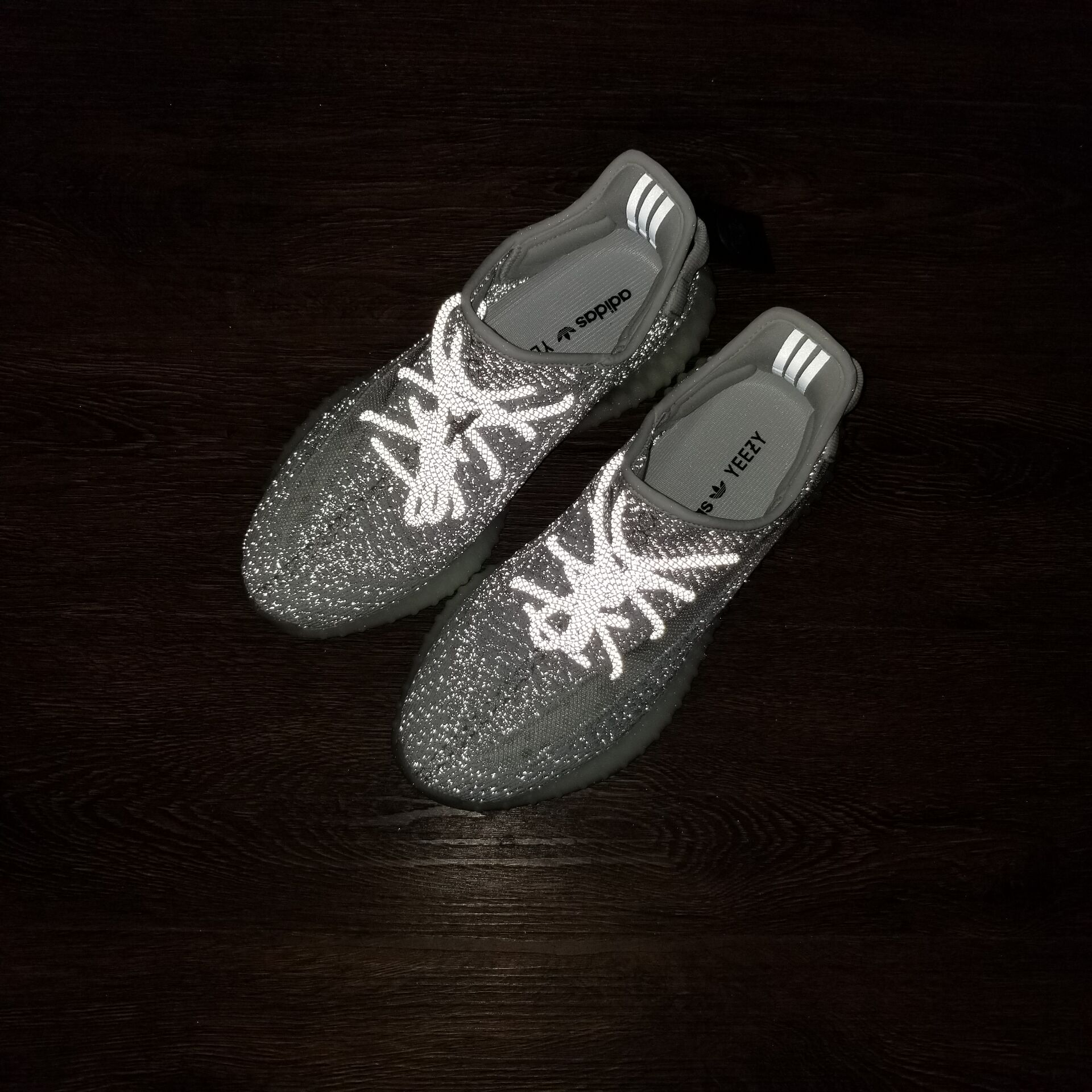934372a9b1126 ... Adidas Yeezy Boost 350 V2  Static Reflective  Shoes EF2367 - Thumbnail  ...