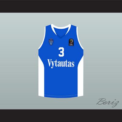 8ab90edd930c Liangelo ball 3 lithuania vytautas blue basketball jersey - Thumbnail 2