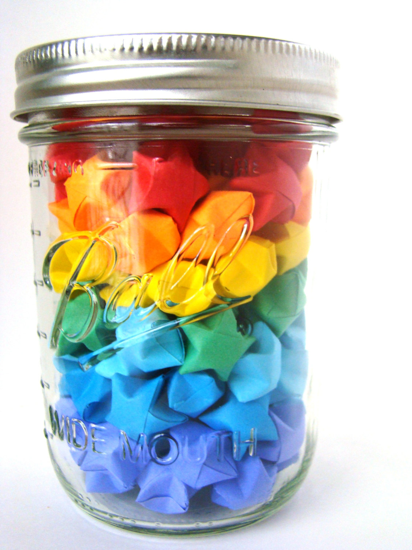 Rainbow Brights - 100 Origami Lucky Stars · Origami ... - photo#50