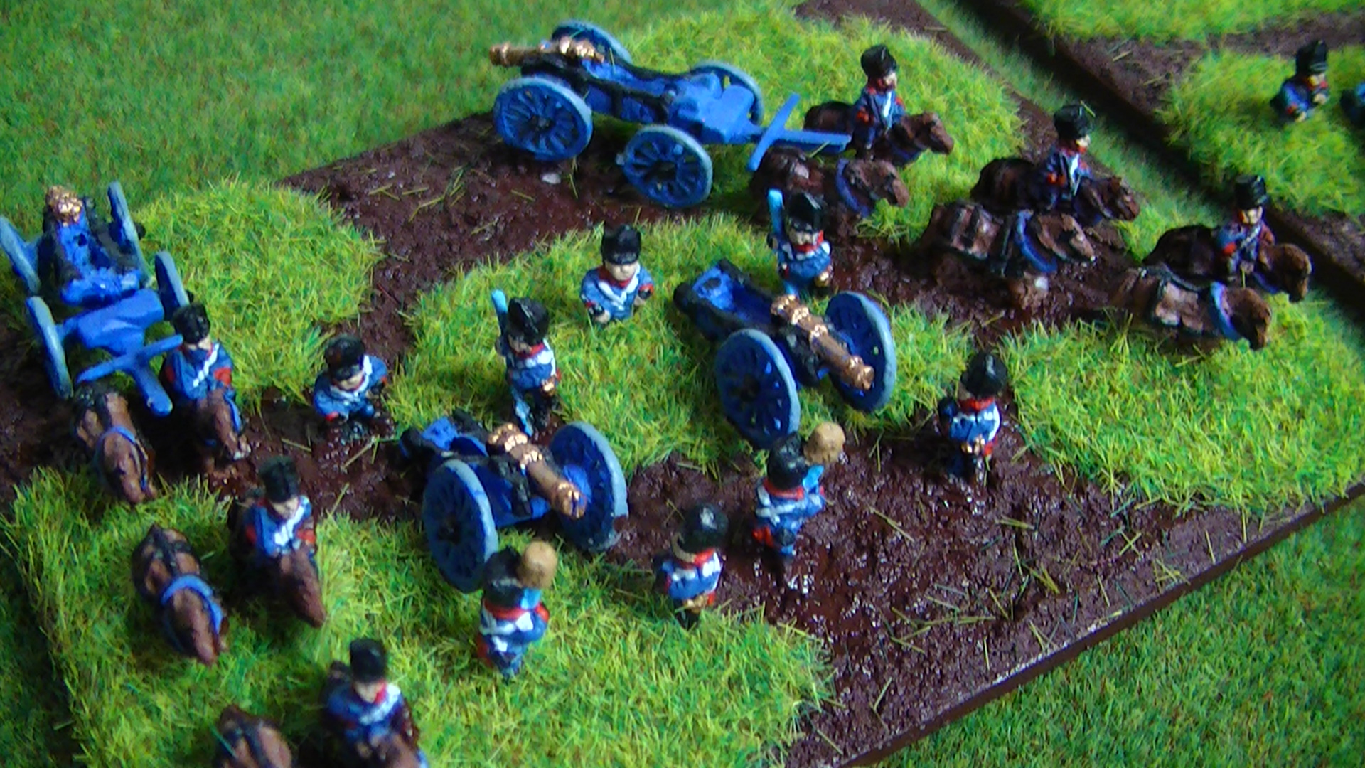 Deluxe 6mm Blucher Base - French from Nerad Games
