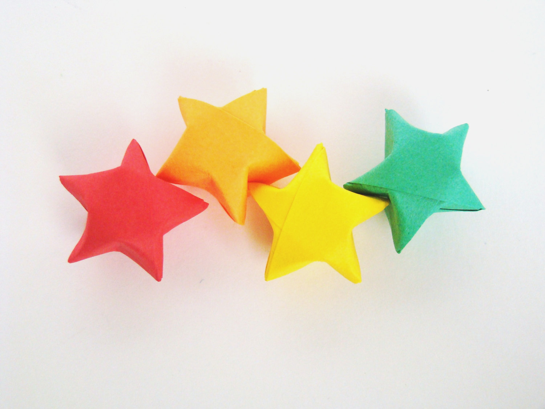 Rainbow Brights - 100 Origami Lucky Stars · Origami ... - photo#13