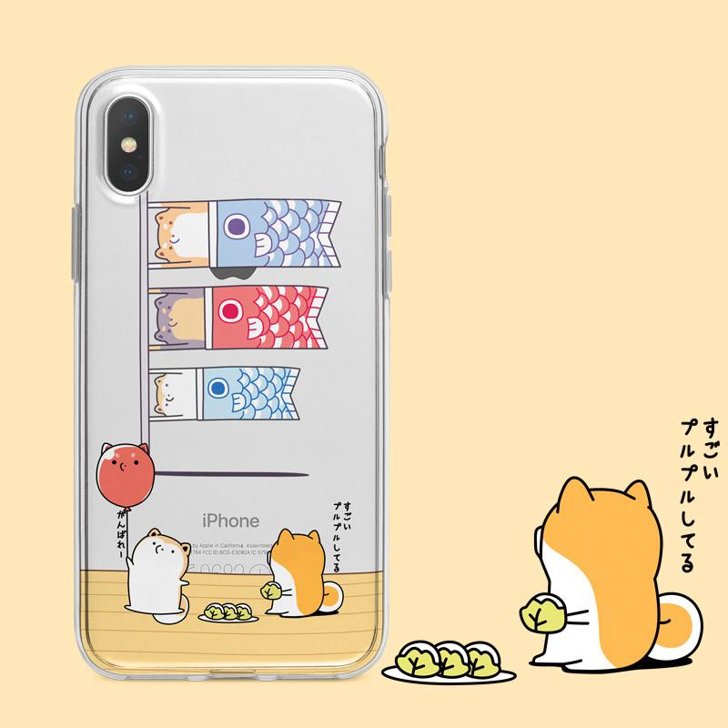 new concept 6450d 4e822 Cute Dog Phone Case for iphone 6/6s/6plus/7/7plus/8/8P/X/XS/XR/XS Max from  storecute