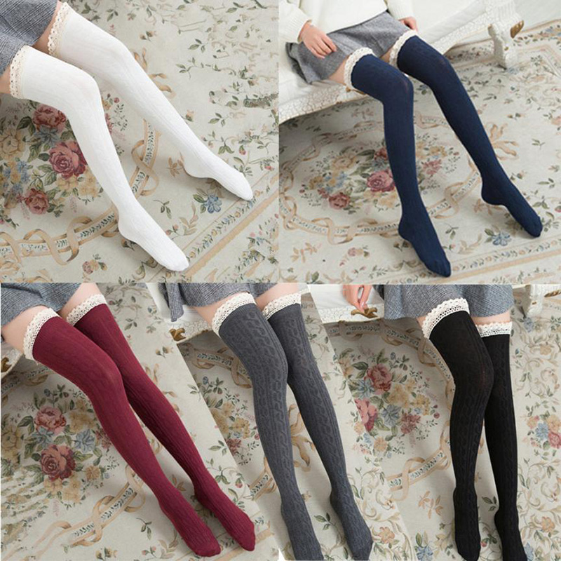 10da756bc8f Fashion Sexy Lace Stockings Warm Thigh High Socks on Storenvy