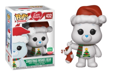 Christmas Wishes Bear.Out Of Stock Care Bears 432 Christmas Wishes Bear Funko Limited Edition Sold By Popzstation