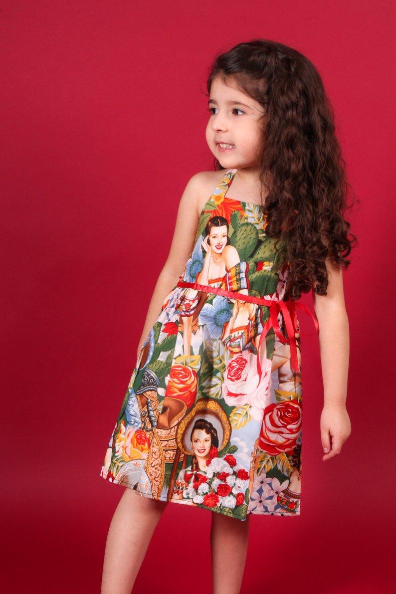 4640831aba0 ... Girls Rockabilly Senorita Dress- 2T