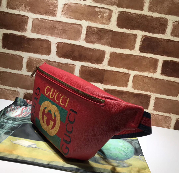 8f4fefb8e0a772 Authentic Gucci cowhide leather belt bag on Storenvy