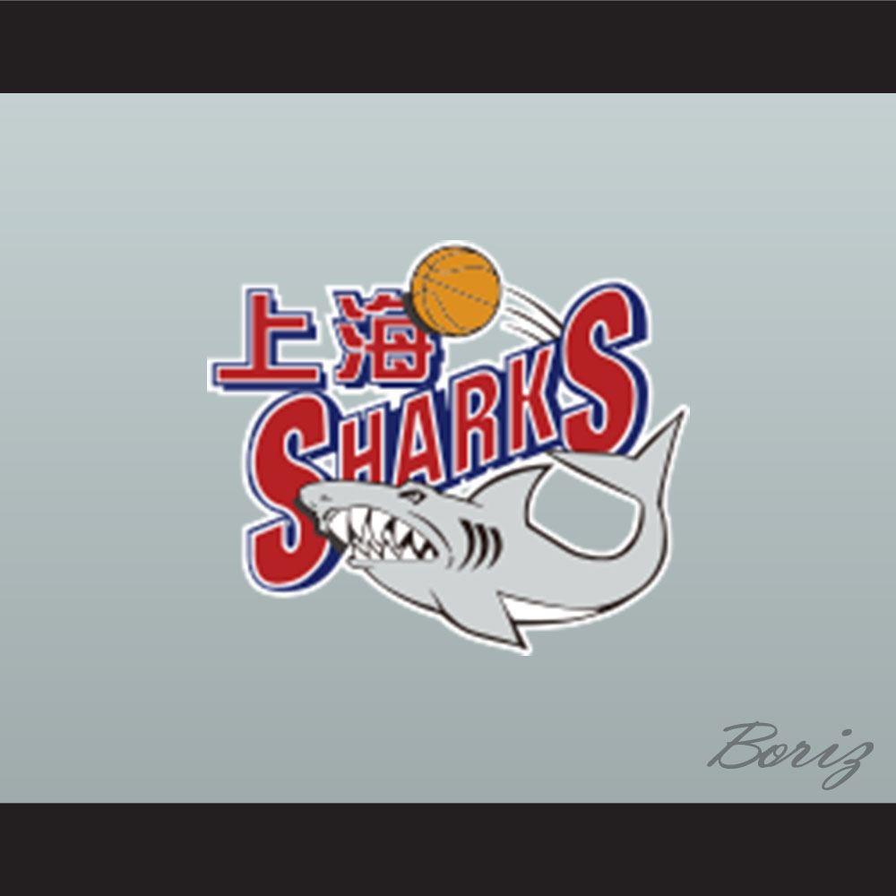 158c8814135e ... Jimmer Fredette 32 Shanghai Sharks White Basketball Jersey with CBA   Sharks  Patch - Thumbnail 4