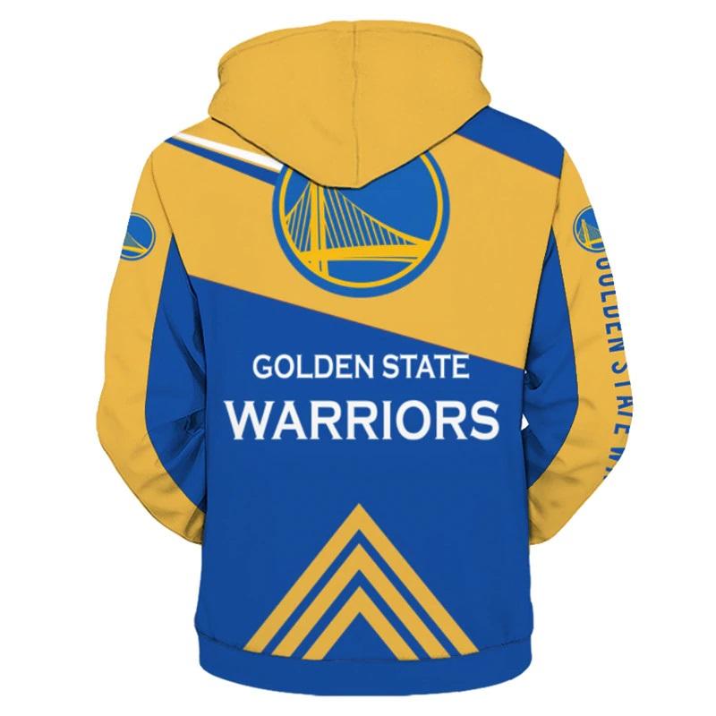 11492dce1 ... Golden State Warriors Full Zipper Hoodie NBA Basketball Sweatshirts New  Season - Thumbnail 2 ...