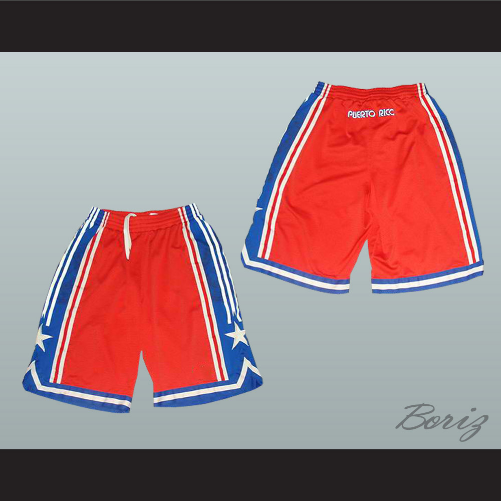 save off 676e7 89a8c Puerto Rico National Basketball Team Shorts All Sizes from acbestseller