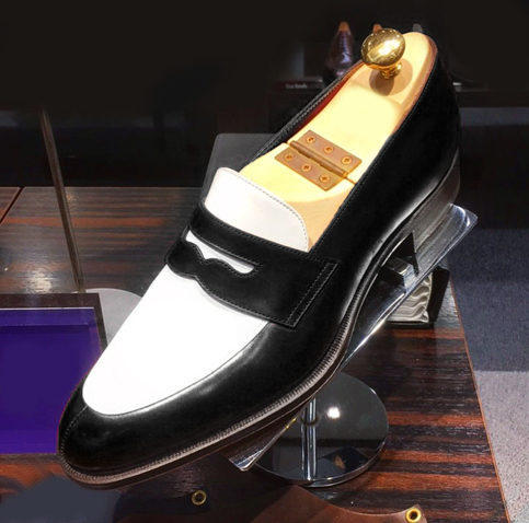 New Men Two Tone Spectator Shoes Men Black And White