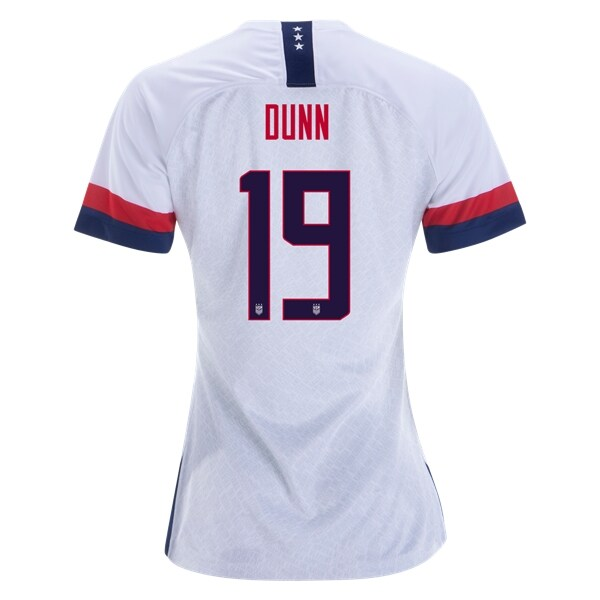 be7d83a56 Crystal Dunn  19 Women s US National Team Home Soccer Jersey USWNT ...