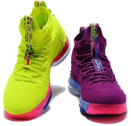 timeless design 00690 29162 The Lastest Footwear Nike LeBron 15 What The Volt Purple Basketball Shoe  Factory Outlet from BELLDRESS