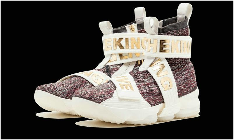 hot sales 46605 37b8e KITH x Nike LeBron 15 LIF AO1068 900 Long Live The King Multi Color  Basketball Shoe from BELLDRESS