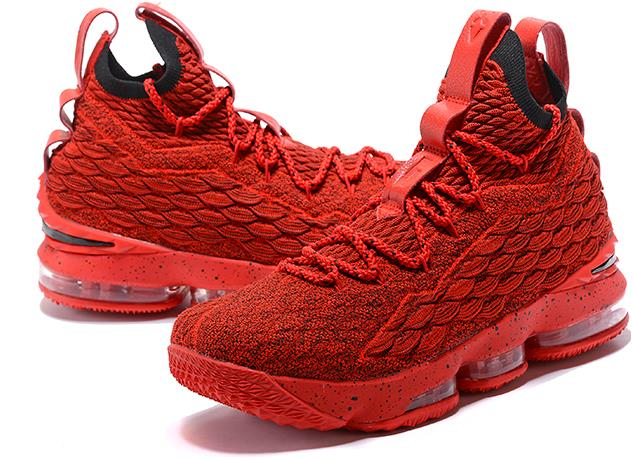 meet 1a614 dfc56 Nike LeBron 15 Red and Black For Sale from BELLDRESS