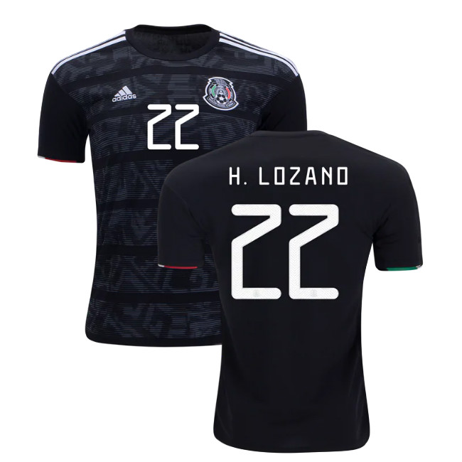 low priced 202bd 46fc8 Lozano 22 Mexico 2019 National Team Home Soccer Jersey Stadium Shirt Men's  T shirt Streetwear from JerseyHunt