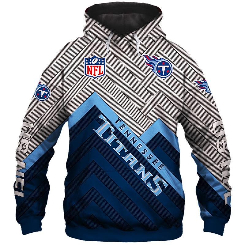 816b2228 Tennessee Titans NFL Team Football Hoodie Silver Edition Sweatshirts from  SportsMegas
