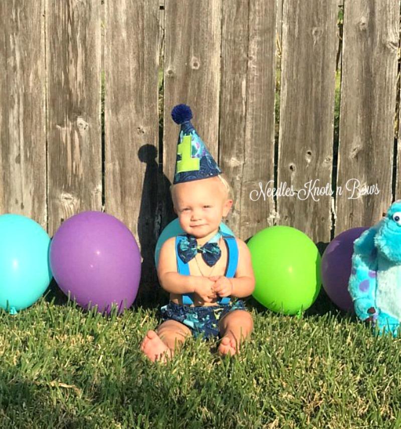 Superb Boys Monsters Inc First Birthday Cake Smash Set Boys Monsters Funny Birthday Cards Online Kookostrdamsfinfo