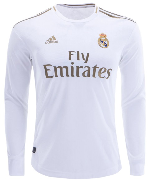 newest collection 0092e cf37d Luka Modric #10 Real Madrid Long Sleeve Home Men Jersey 19 20 Shirts White  from isacctex