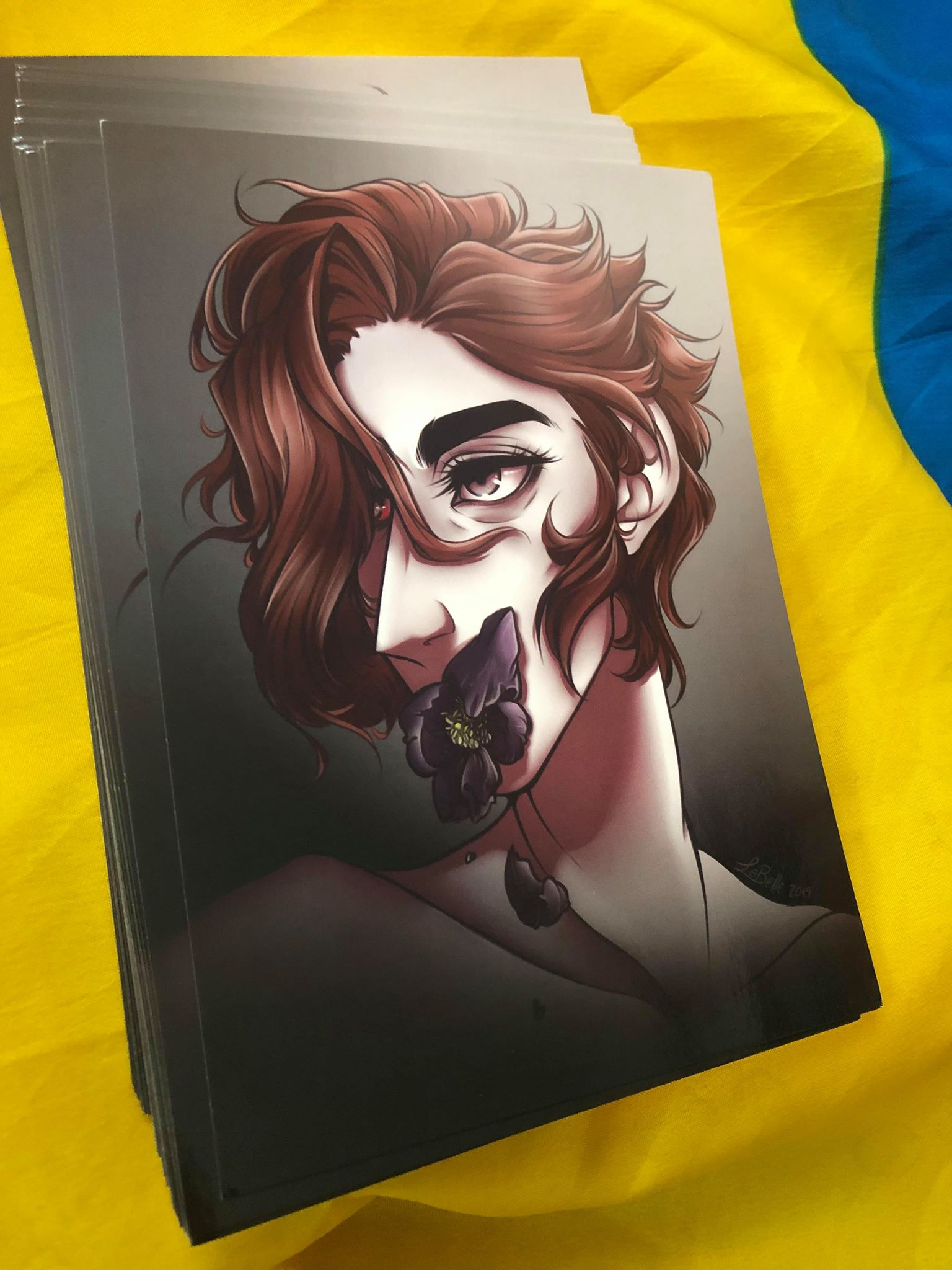 The Arcana Game: Julian + Wolfsbane sold by Anon Bunny