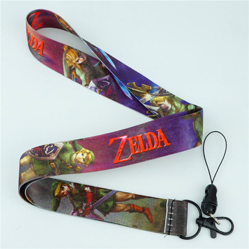 New The Legend Of Zelda Toon Link Neck Strap Yellow Lanyard