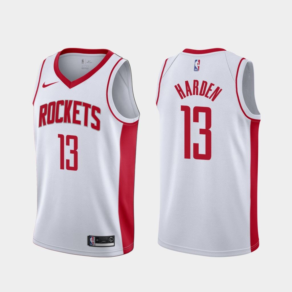 sale retailer 6eec9 2b06f Houston Rockets James Harden 2019-20 Association White Men's #13 Jersey  sold by yoema