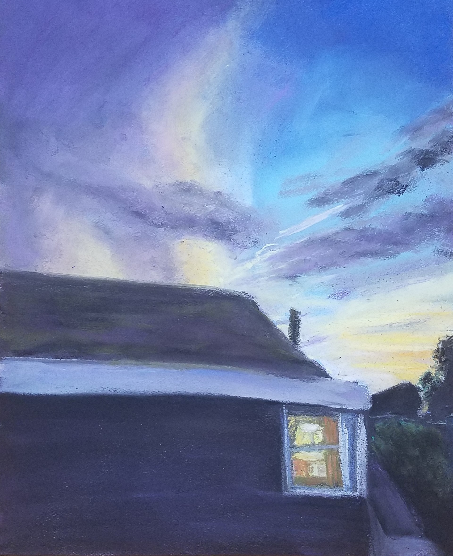 Sunset from the Kitchen Window · Kal Anderson · Online Store ...
