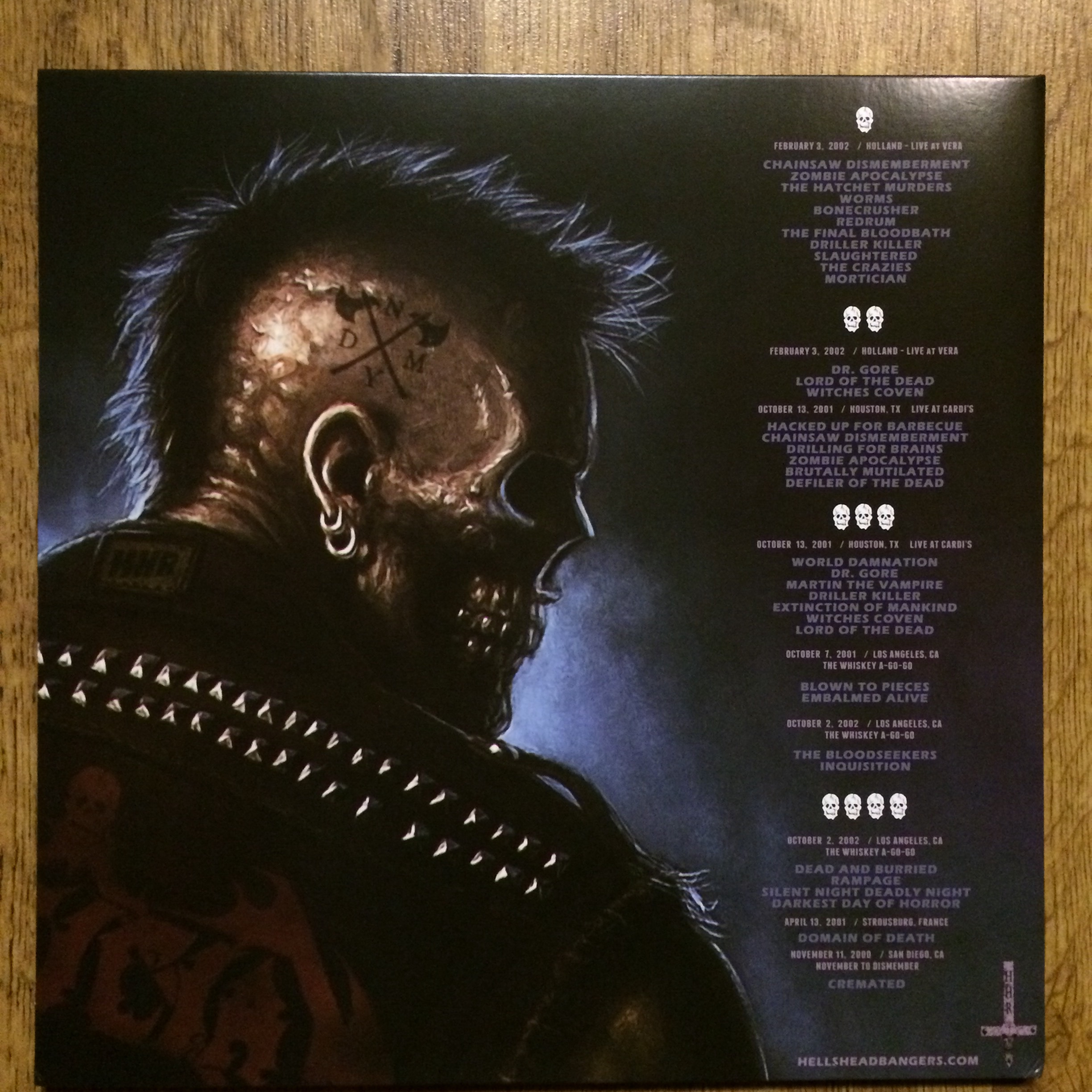 Mortician Zombie Massacre Live 2lp Black Vinyl Extremely Rotten Productions Online Store Powered By Storenvy