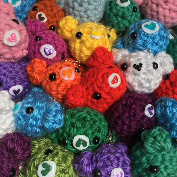 Kawaii Tako-san Amigurumi (Cute Crochet Octopus) Keychain on Luulla | 616x616