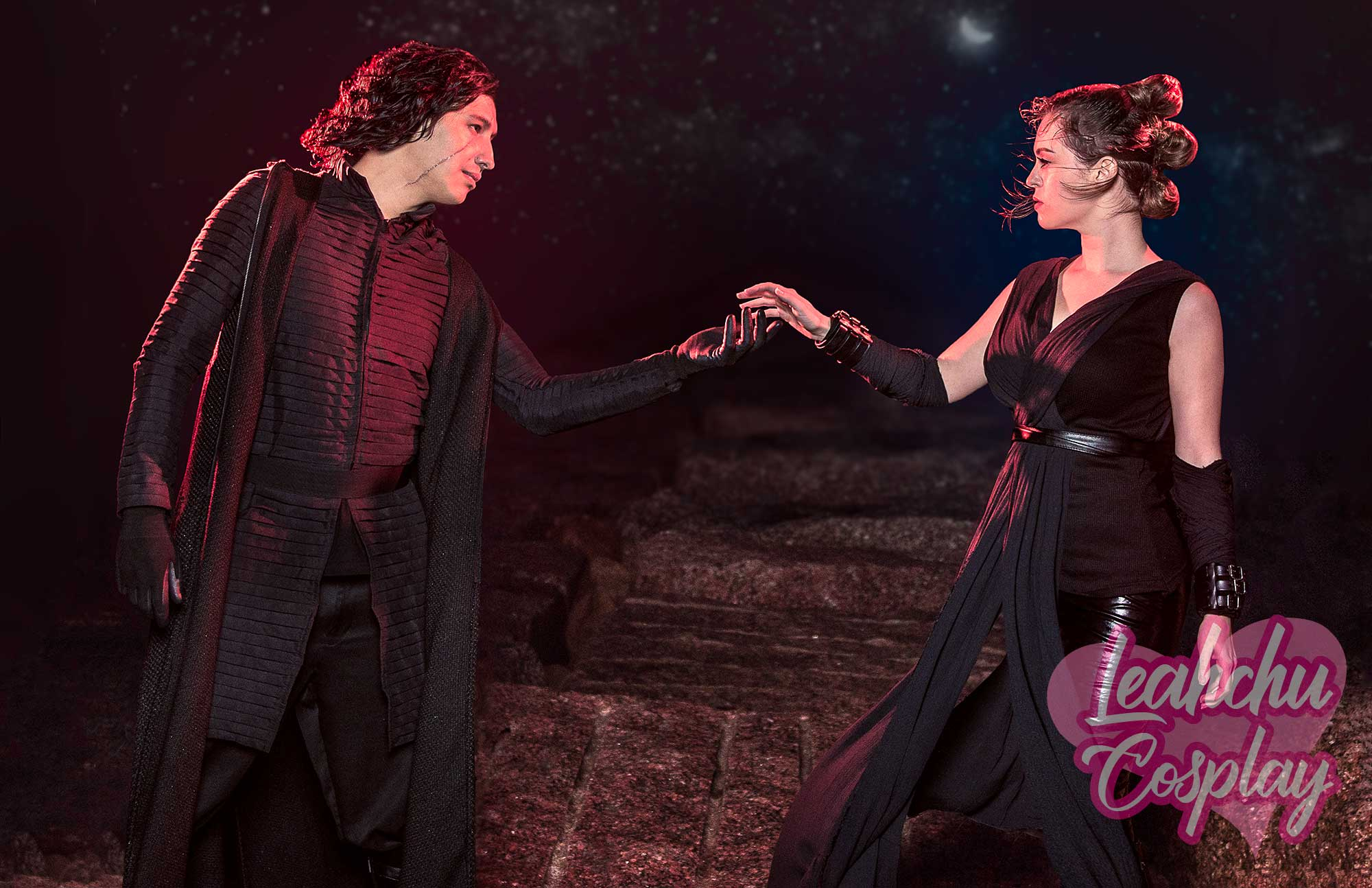 Dark Rey And Kylo Ren Reylo Cosplay Star Wars The Rise Of Skywalker Sold By Leahchu Cosplay On Storenvy