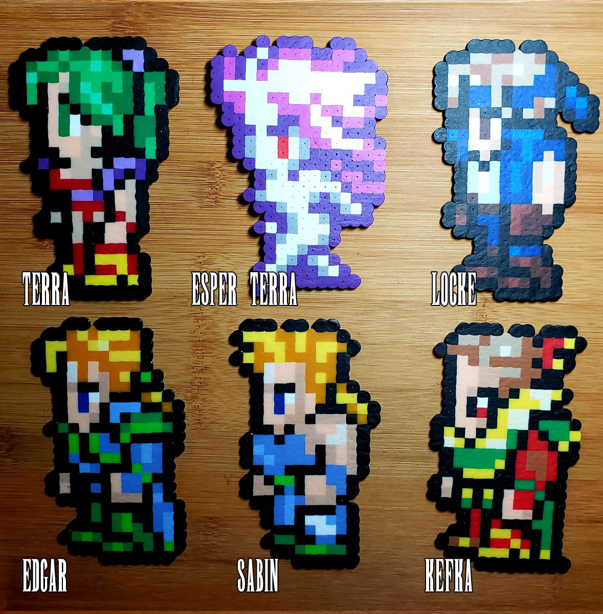 FF6 Character Sprites (Side) · Rusted Icon Designs ... |Ff6 Shadow Sprite