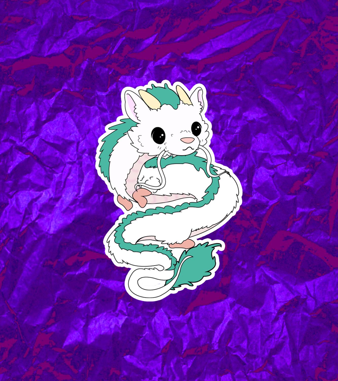 Haku Spirited Away Sticker Sold By Sugarbundoodles On Storenvy