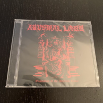 "Abysmal lord- ""exaltation of the infernal cabal"" cd"