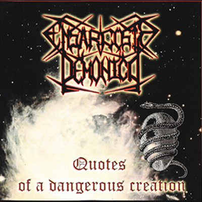 "Ensarcosis demonica- ""quotes of a dangerous creation"" cd"