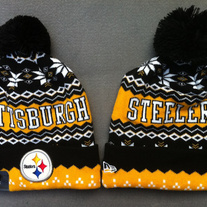 New era pittsburgh steelers weather advisory cuffed knit beanie 1735 705778f2b