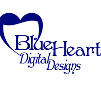Blue Heart Digital Designs Quot Piece Of My Heart Quot Silver